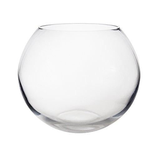 Amazon Mega Vases 10 X 825 Bubble Fish Bowl Glass Vase