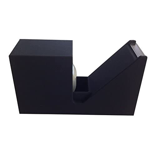 Black Rubberized (suede feel) Tape Dispenser for cheap