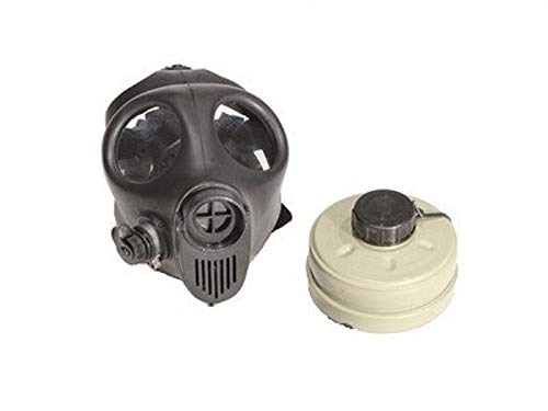 Scary Gas Mask Costumes - Gas mask (Small Size) with Filter