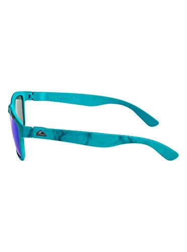 para sol Quiksilver Dye Tie EQYEY03065 Gafas amp; Stanford Ml Print de Hombre Matte Blue qtaPaIwr