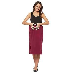 Mystere Paris Loungewear Cotton Maternity Skirt Online India