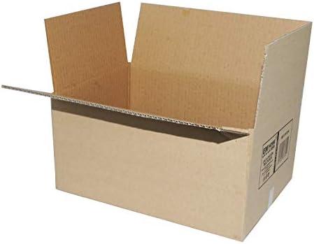 Cajas de Cartón, Cajas de Mudanza y Envíos Postales Pack de 12, Alta Calidad, Resistente-Color Marrón (30x20x15cm): Amazon.es: Oficina y papelería