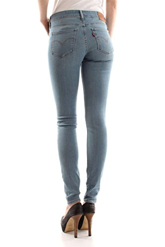 0166 AGED LIGHT 32 28 711 L JEANS AGED 18881 LEVIS Femme LIGHT FwxqIYXp