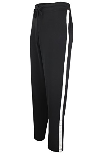 Pantalon Stripe Brave Soul Femme White Black With fqAwvA5xZ