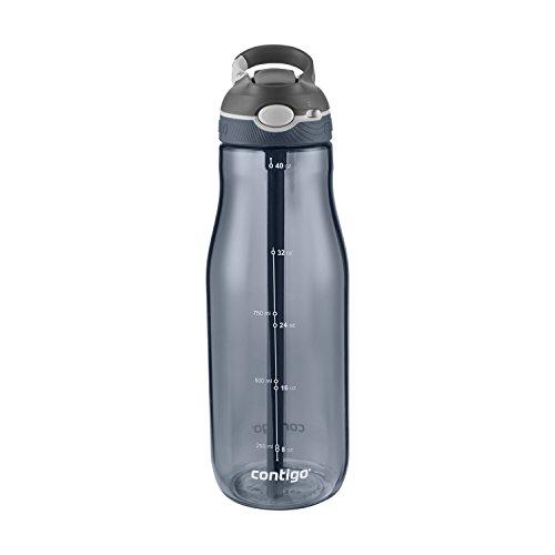 Contigo Autospout Ashland Water Bottle, 40oz , Stormy Weather