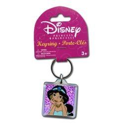 Disney Princess Jasmine Keychain- Lucite Keyring(24375-10M)