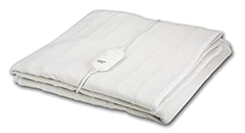 Johnson - Manta eléctrica para cama individual, 2 niveles, 60W, con mando