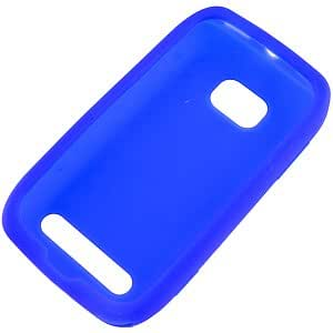 Silicone Skin Cover for Nokia Lumia 710, Blue