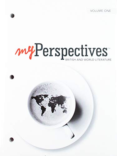 Myperspectives English Language Arts 2017 Student Edition Volumes 1 & 2 Grade 12