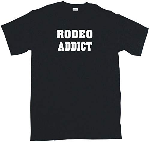 Rodeo Addict Big Boy's Kids Tee Shirt Youth Large-Black