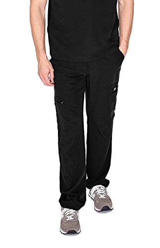 FIGS Cairo Cargo Scrub Pants for Men – Relaxed Fit, Super Soft Stretch, Antimicrobial, Anti-Wrinkle Medical Scrub Pants