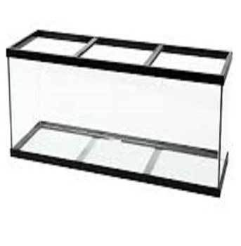 Perfecto Manufacturing APF10222 220-Gallon Aquarium Tank, 72 by 24 by 30-Inch, Black