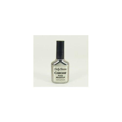 Sally Hansen Chrome Nail Makeup Polish #01 Pure (Sally Hansen Chrome Nail Makeup)
