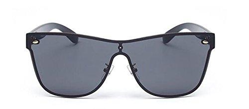 cercle retro métallique en de vintage inspirées Film du rond polarisées Lennon style Noir lunettes soleil PYgwqv