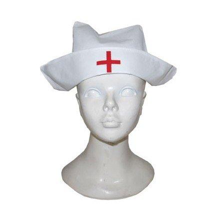 Cuffia economica da infermiera copricapo per travestimento crocerossina e80af3b27b9e