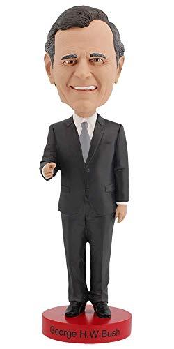 Royal Bobbles George H. W. Bush Bobblehead (George Bush Best President)