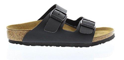 Price comparison product image Birkenstock Unisex Arizona Slide Sandal, black, 33 EU/2 M US Big Kid