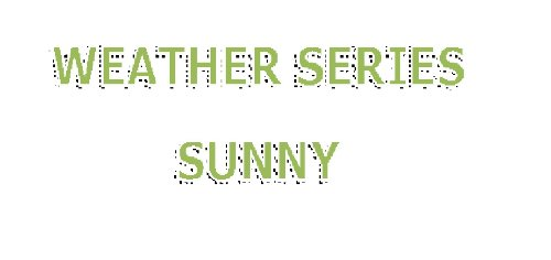 Sunny (Weather Series) por Amanda Torres