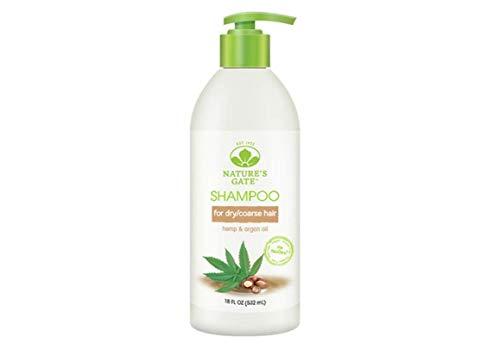 Nature s Gate Shampoo Nurturing Hemp Argan Oil 18 fl oz 532 ml ()