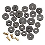 Plumb Pak PP20520 Faucet Washer Flat Assorted with Screws, by Plumb Pak