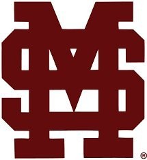 Burgundy Vinyl Bean Bag - New Miss State Bulldogs Cornhole Decals - 2 Cornhole Decals Free Circles