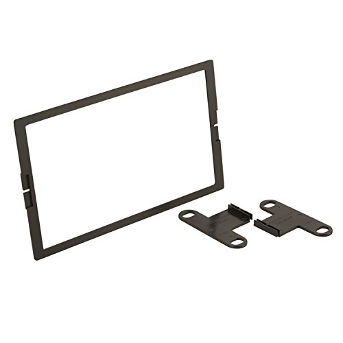 SCOSCHE NN1674DDB 1993-04 Select Nissan, Infiniti and Mercury Double DIN Dash Kit w/Trim Ring (Factory Brackets Required) ()