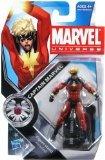 Marvel Universe 3 3/4 Inch Series 12 Action Figure #1 Captai
