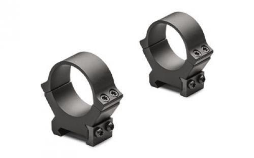 Leupold, PRW2 Permanent Weaver-Style Rings, 30mm Tube Diameter, Low Height, Matte Black