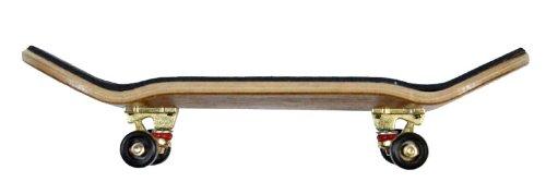 Inoxidable Finger Skateboard y wengué/GO/SWZ South Boards® Handmade Wood tarjeta Real Madera