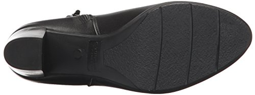 WoMen Black Miko Boot Leather Leather Fashion Canadienne La ASn6qx56