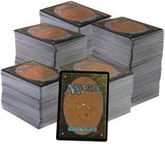 Magic The Gathering; White Lot; 50 MTG Trading Cards from Beta to 2014