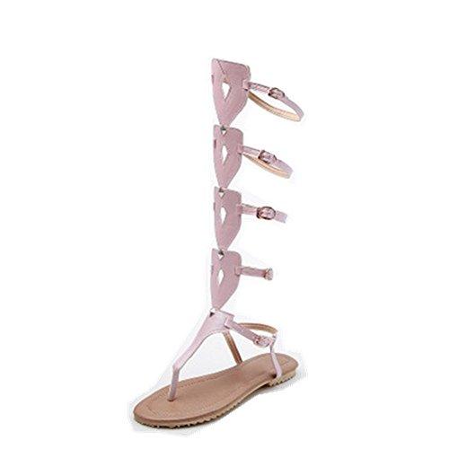Pink 52 Sandali 1807 Donna Gladiatore AnMengXinLingBAOLAN nXqRWHR