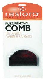- restoraTM Fuzz Removal Comb
