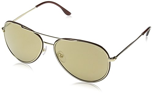 Brown Frame Gold Aviator Gradient Lunette Lens Glory de S8299 Police soleil Sa8Pnqw