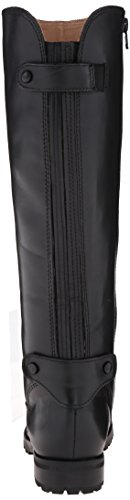 Corso Brushed Leather Riding Como Wallace Black Boot Women's UrqUx7Y