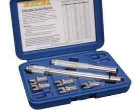 Excel 7 Piece Spoke Torque Wrench Set (Seven Spoke)