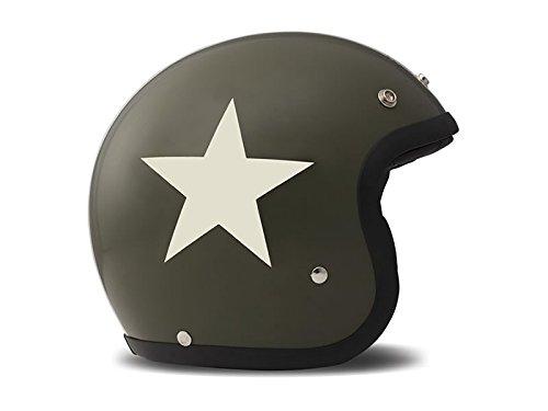 M DMD 1jts30000sg03/Casque Moto Star Green