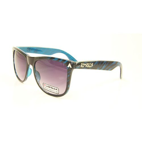 Airwalk Wicked Blue Plastic Sunglasses