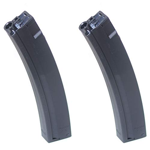 - Airsoft Shooting Gear 2pcs 200rd Hi-Cap Magazine for JG Golden Eagle MP5 Series AEG
