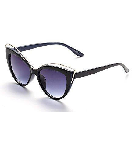 KELUOZE Womens Polarized Sunglasses Cat Eye Sunglasses Aviator Wayfarer - Sunglasses Eye Cat Polarized