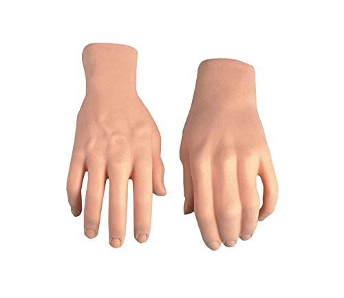 Forum Novelties Men's Prop Stage Hands, Nude, One Size -