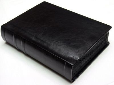 Art Style Albums Professional 5x7 All Black Wedding Photo Album 20 Pages