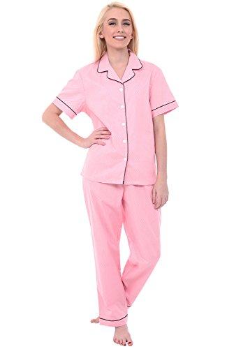 Del Rossa Womens Cotton Pajamas