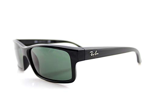 Ray-Ban RB4151 Square Active Lifestyle Black Sunglasses 59mm