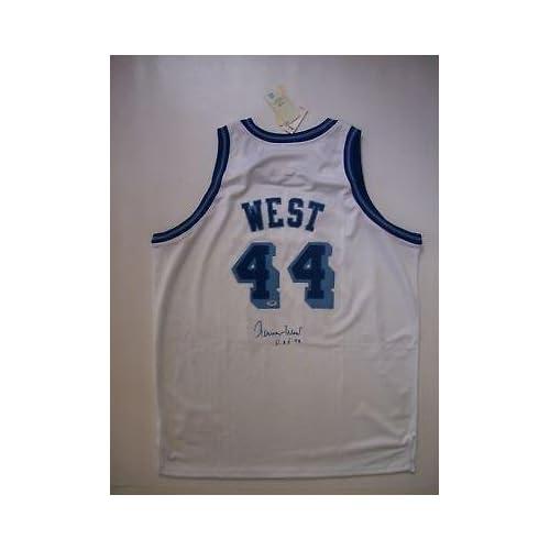 0a8ff0ce7 cheap Jerry West Autographed Jersey - PSA DNA Certified - Autographed NBA  Jerseys