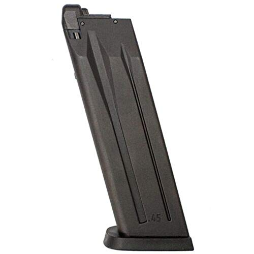(AirSoft H&K USP .45 NS2 Gas Blowback Pistol 22rd Magazine)