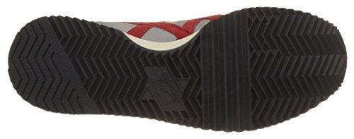 Asics Dualio, Zapatillas Unisex Multicolor (Light Grey/classic Red)