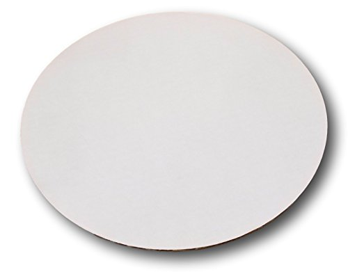 Corrugated Sturdy White Cake/Pizza Circle by MT Products (15 Pieces) (14 Inch)