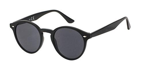 Vintage ojo cerradura de los John Net negro alrededor de 400UV puente Chic gafas Gato sol la Lennon Retro de oculares de puntos UW0PZn8Z