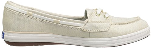 Lurex Canvas Schimmer Gold Natural Damen Keds dYB5EqwB